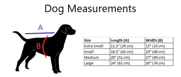 Dog measurements