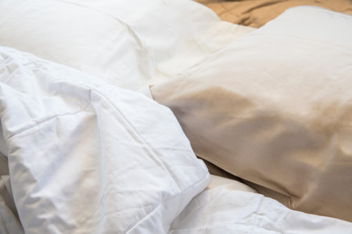 Cotton-Silk Pillow Cases - Smart silk