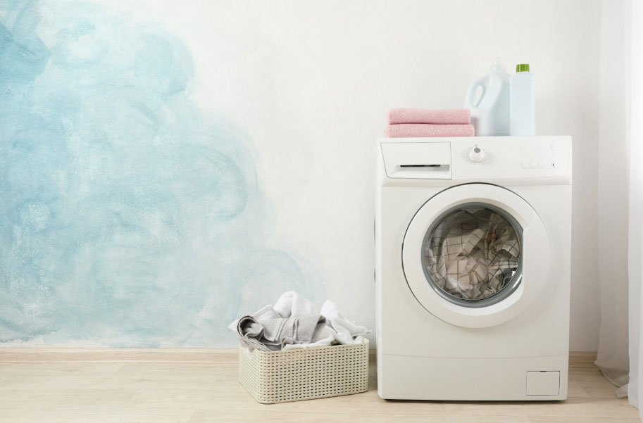 Weekly washing and drying during allergy season